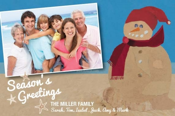 Order and customize holiday photo cards beach fun photo card order and customize holiday photo cards beach fun photo card greeting cards eclectik m4hsunfo
